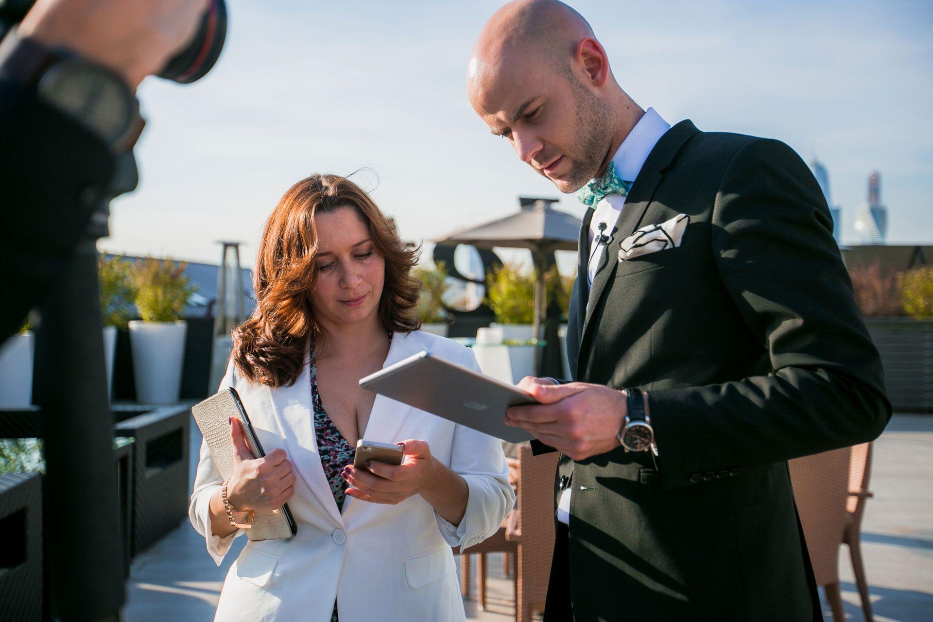 Олег Белецкий ведущий на свадьбе