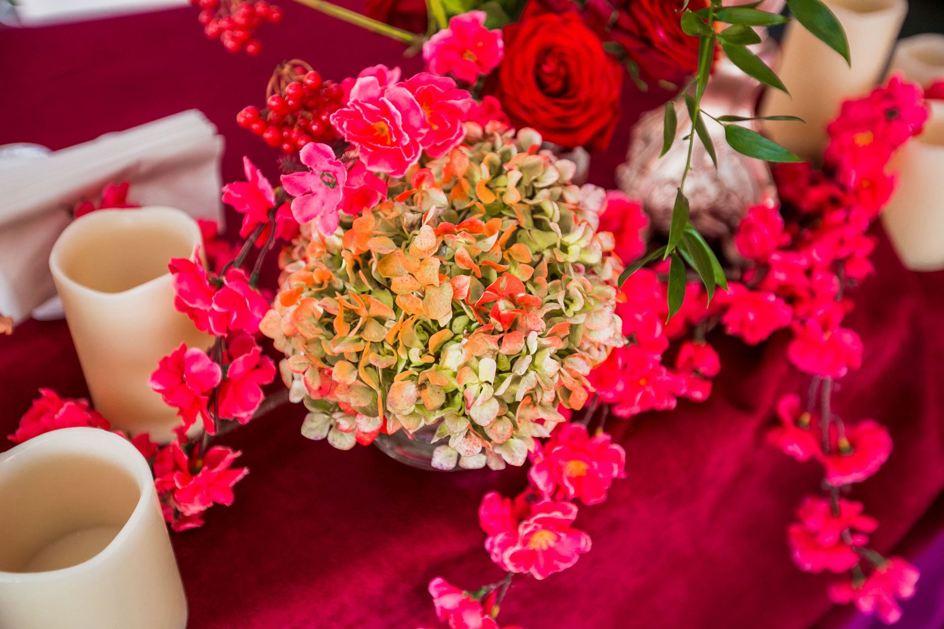 Яркая осенняя свадьба от агентства Nova Wedding фото 5