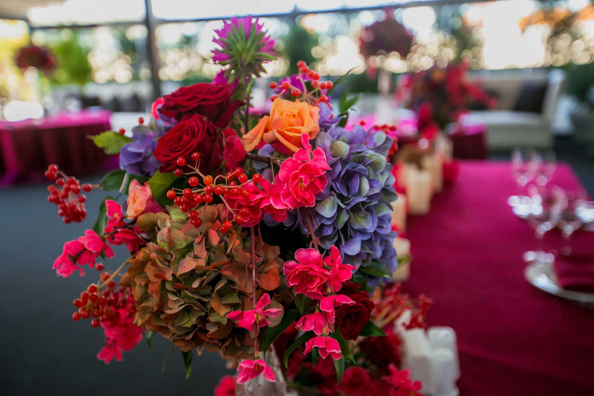 Яркая осенняя свадьба от агентства Nova Wedding фото 3