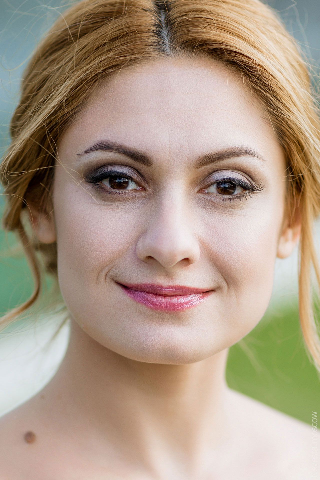макияж, стилист Елизавета Романова