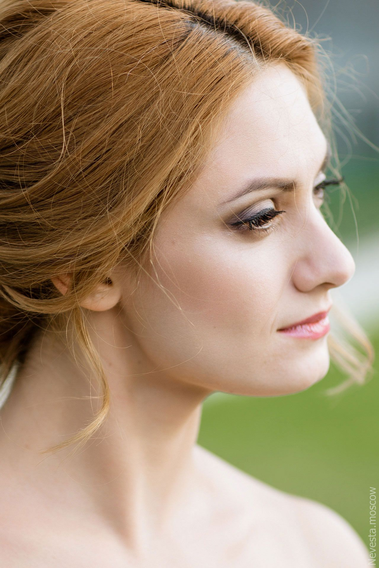 акцент на глаза, стилист  Елизавета Романова