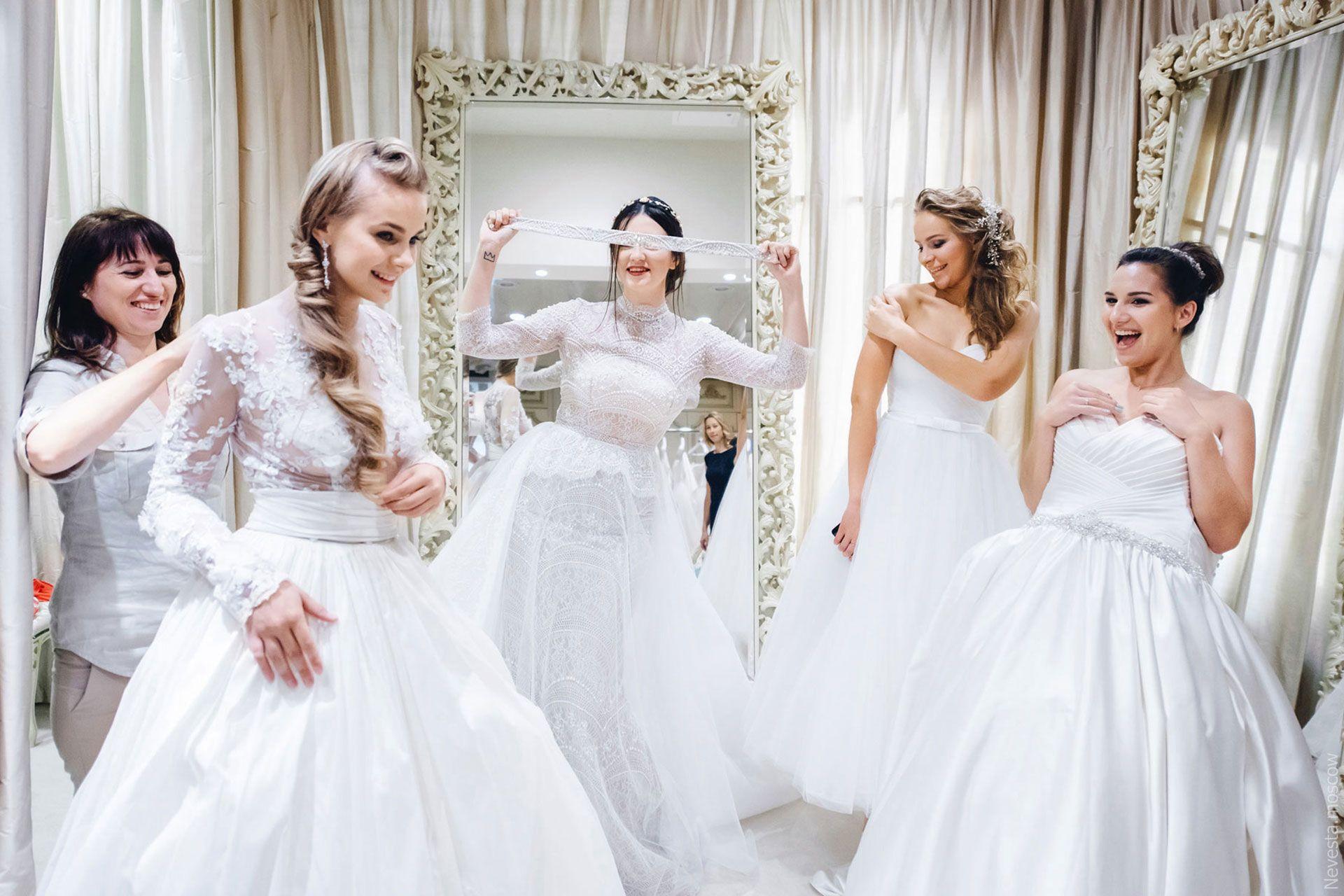 Поиск идеального свадебного платья в салоне Wedding rooms фото 33