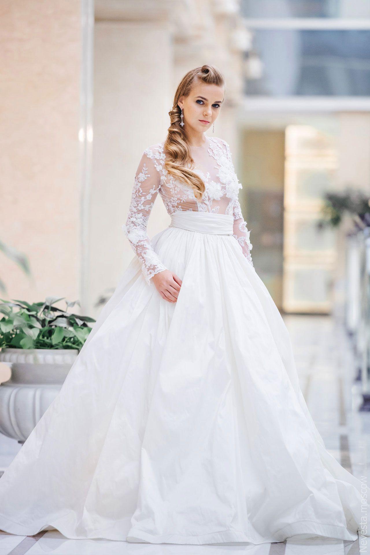 Поиск идеального свадебного платья в салоне Wedding rooms фото 25