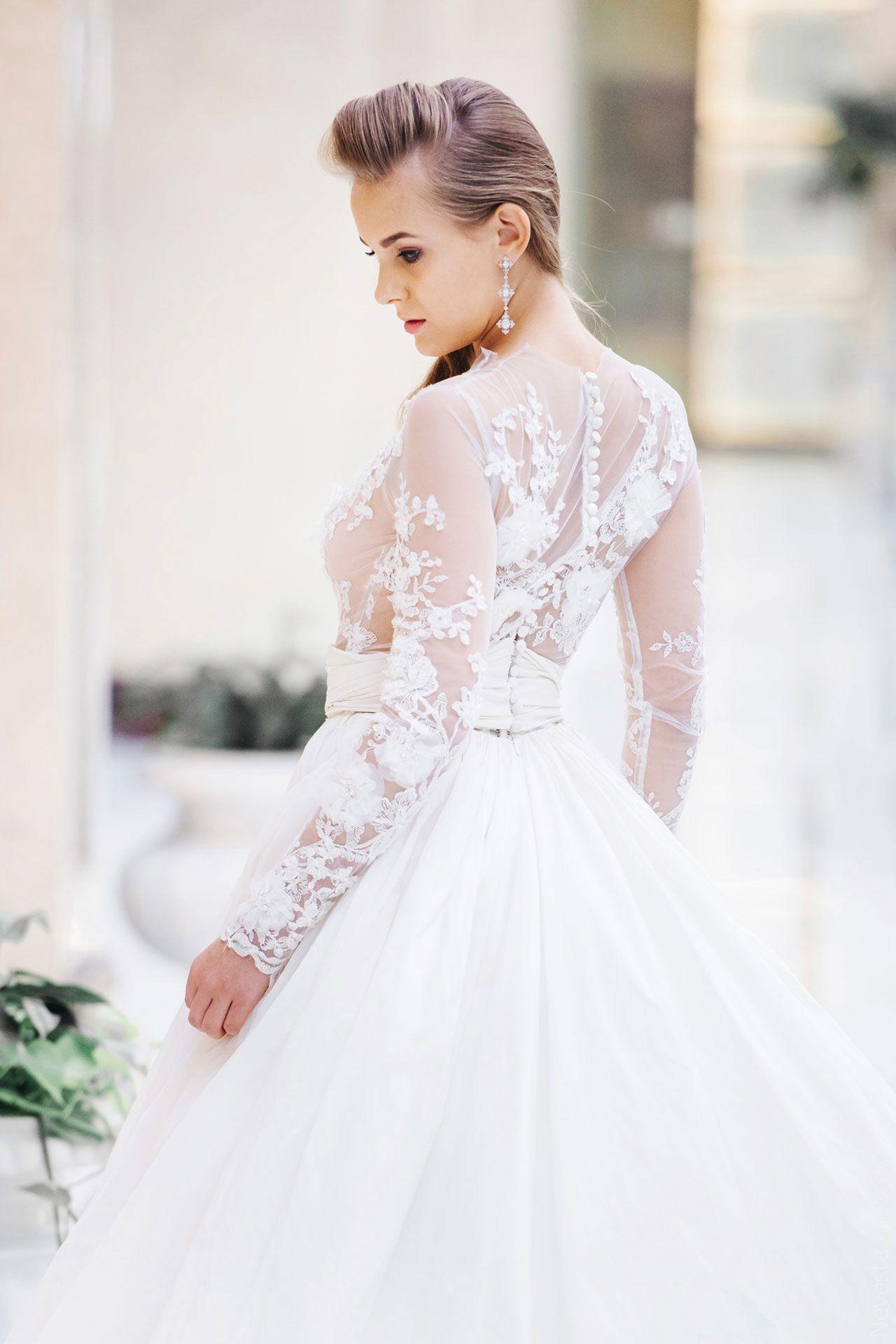 Поиск идеального свадебного платья в салоне Wedding rooms фото 23