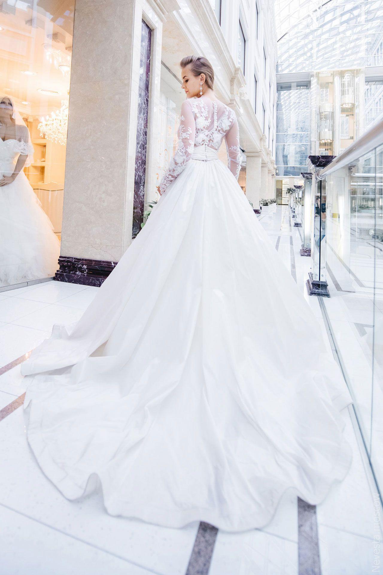 Поиск идеального свадебного платья в салоне Wedding rooms фото 24