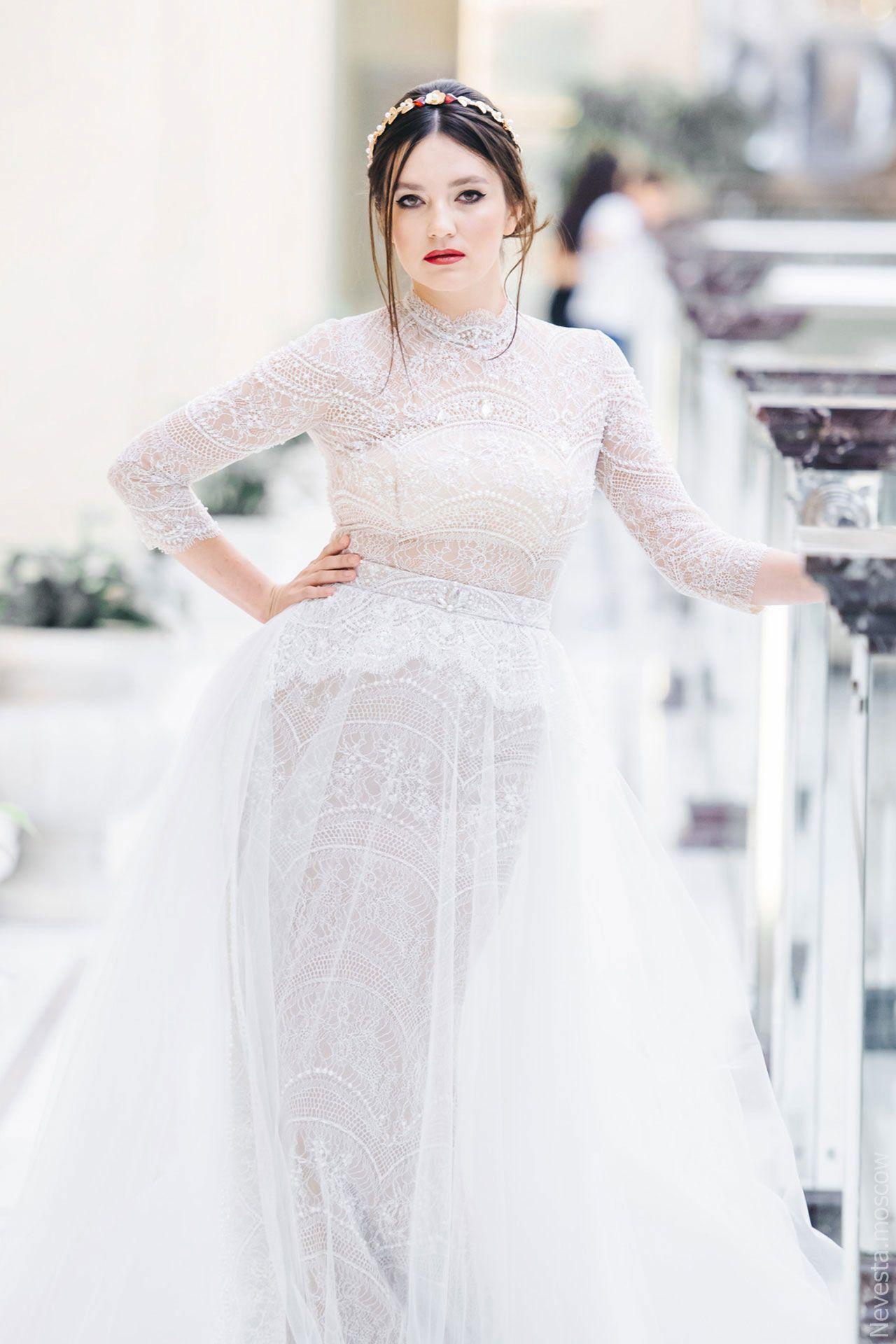 Поиск идеального свадебного платья в салоне Wedding rooms фото 27