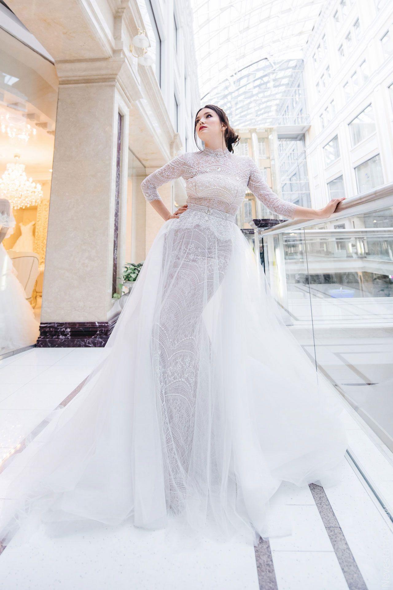 Поиск идеального свадебного платья в салоне Wedding rooms фото 28