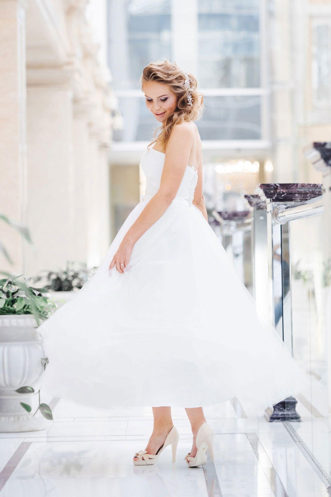 Поиск идеального свадебного платья в салоне Wedding rooms фото 29