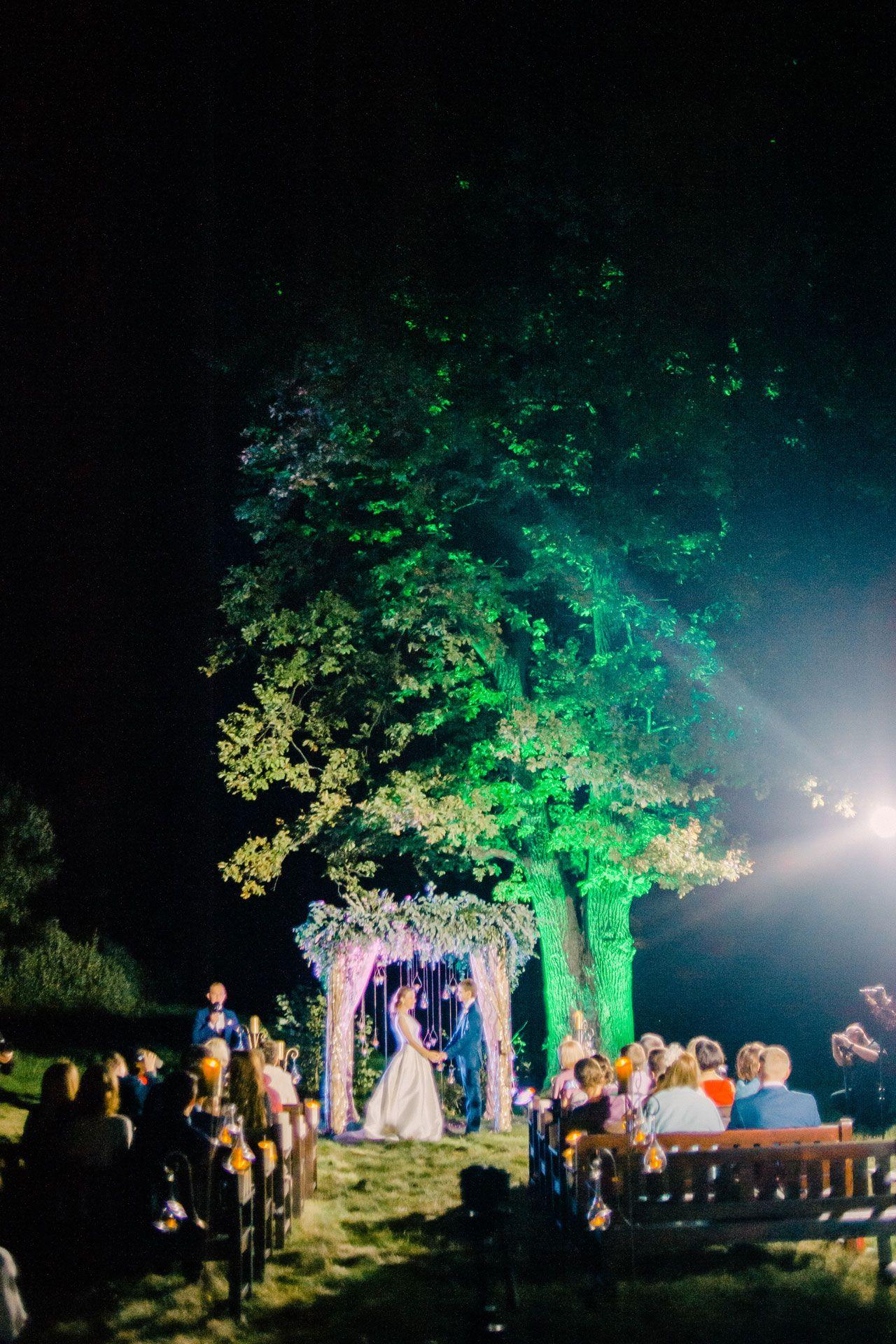 Вечер при свечах. Свадьба Николая и Кристины фото 14