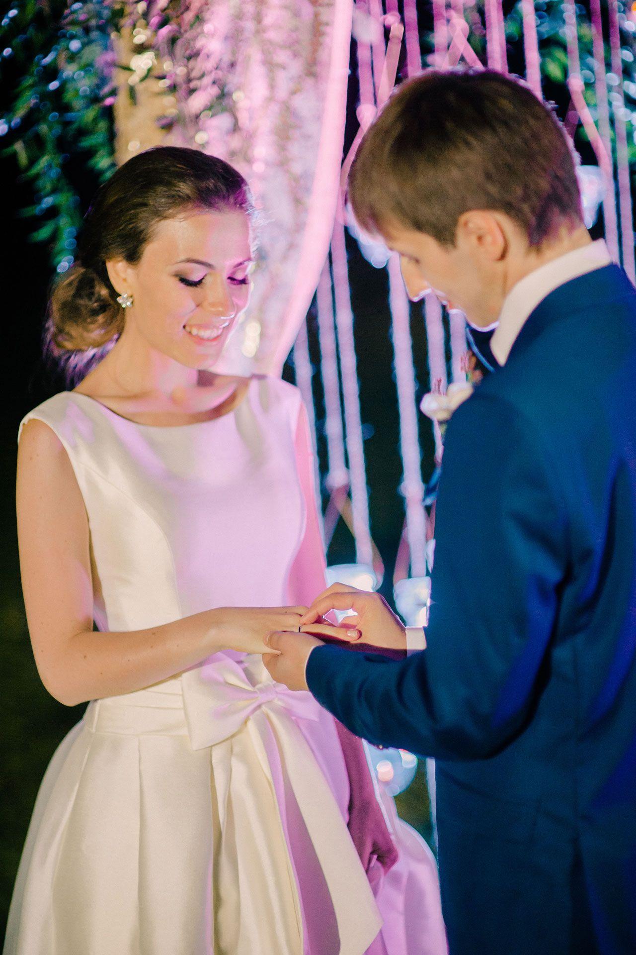 Вечер при свечах. Свадьба Николая и Кристины фото 25