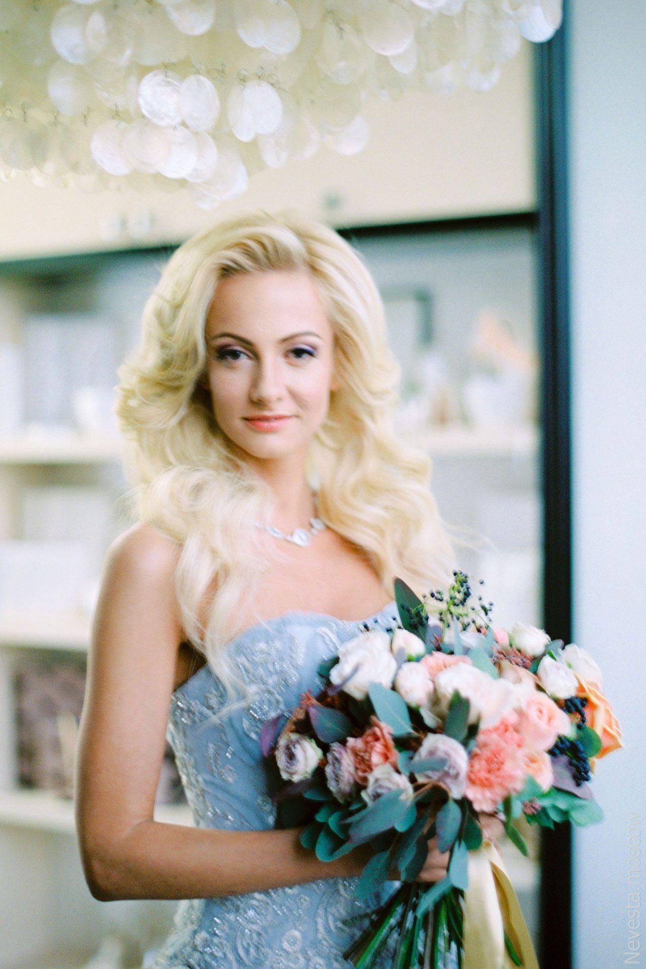 актриса Полина Максимова в свадебном платье невеста фото 4