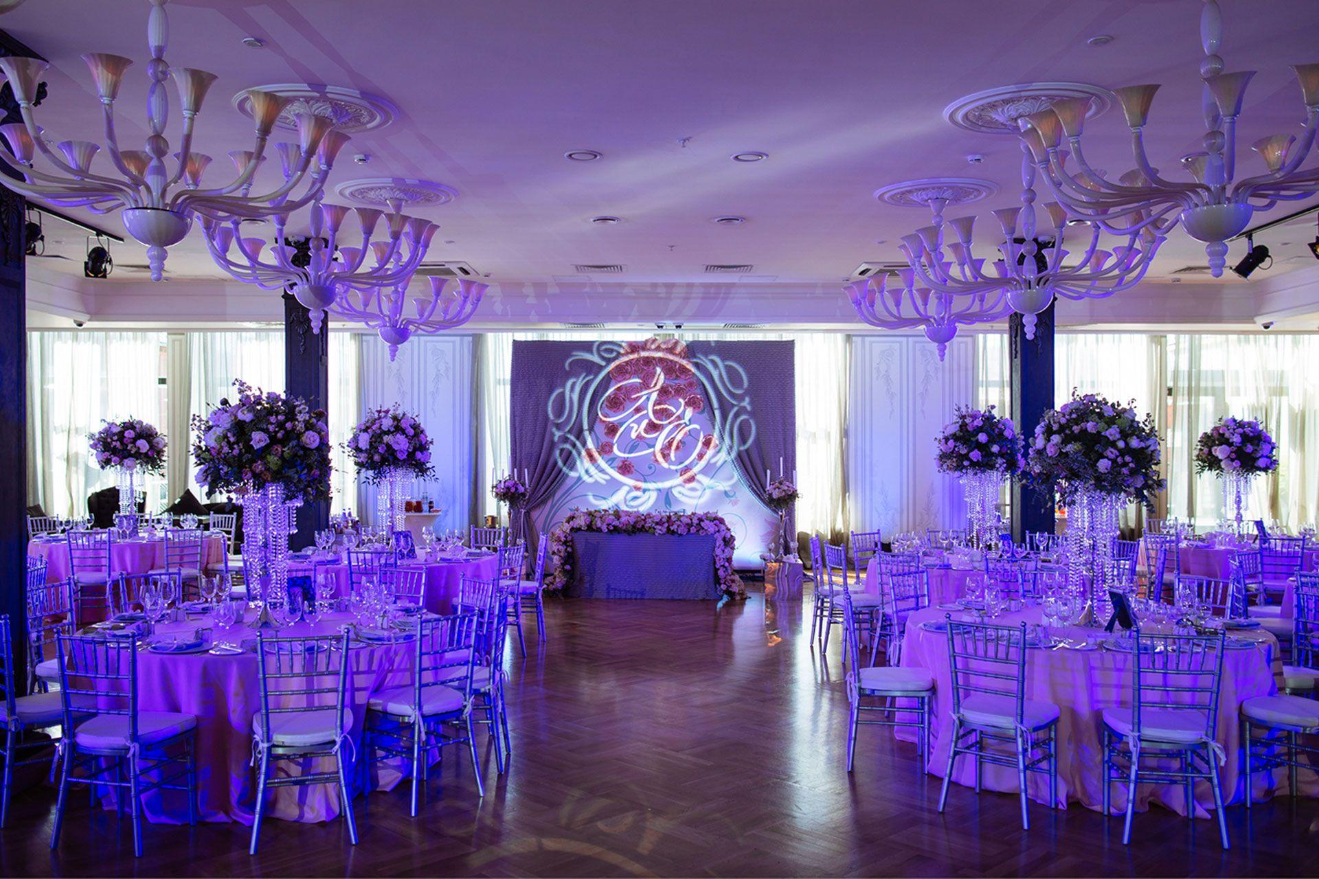 Организатор Варвара Перегудова: световое оборудование на свадьбе фото 21
