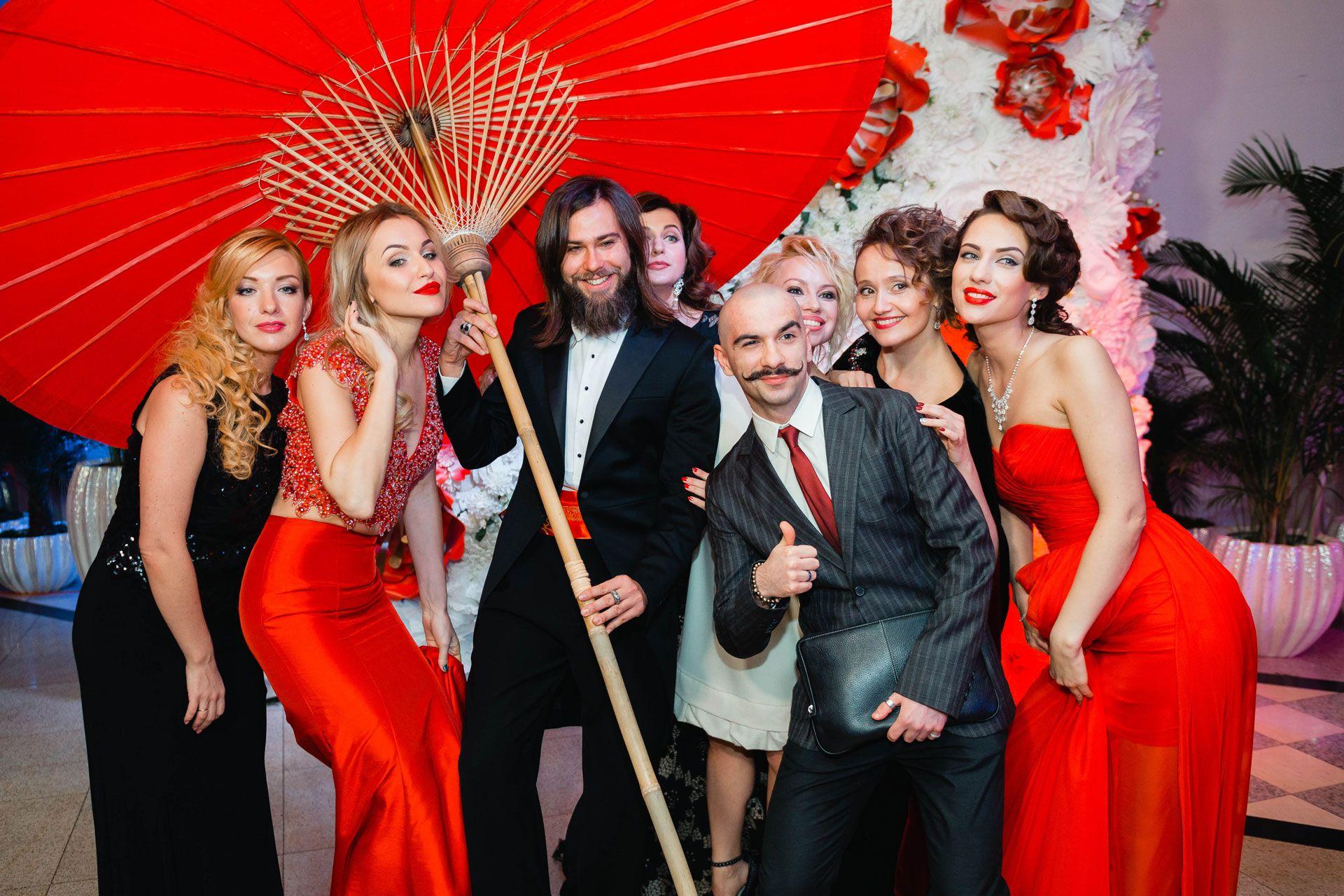 Top 7 Showwomen, свадьба, колорит Китая, фото 10