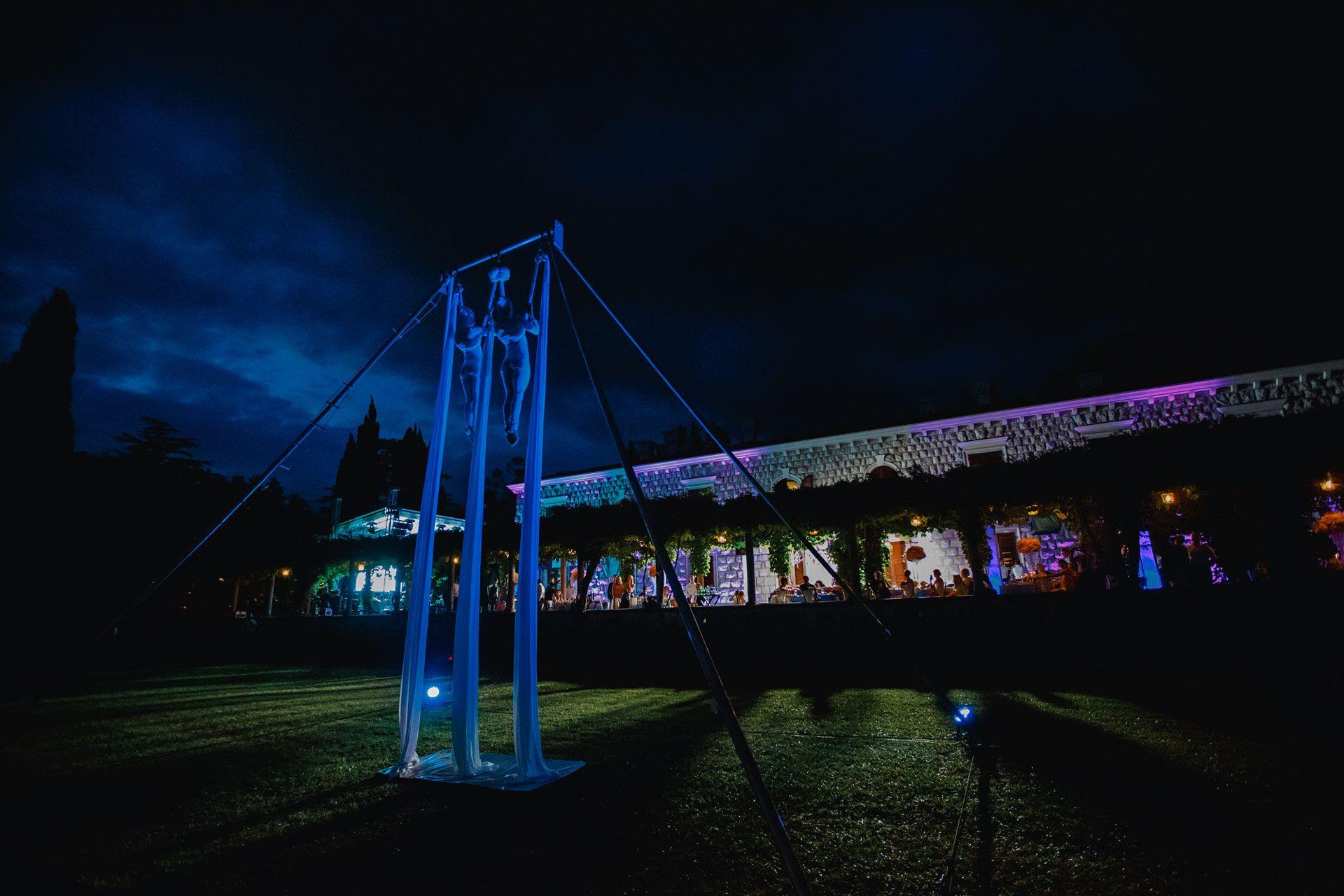 Организатор Варвара Перегудова: световое оборудование на свадьбе фото 17