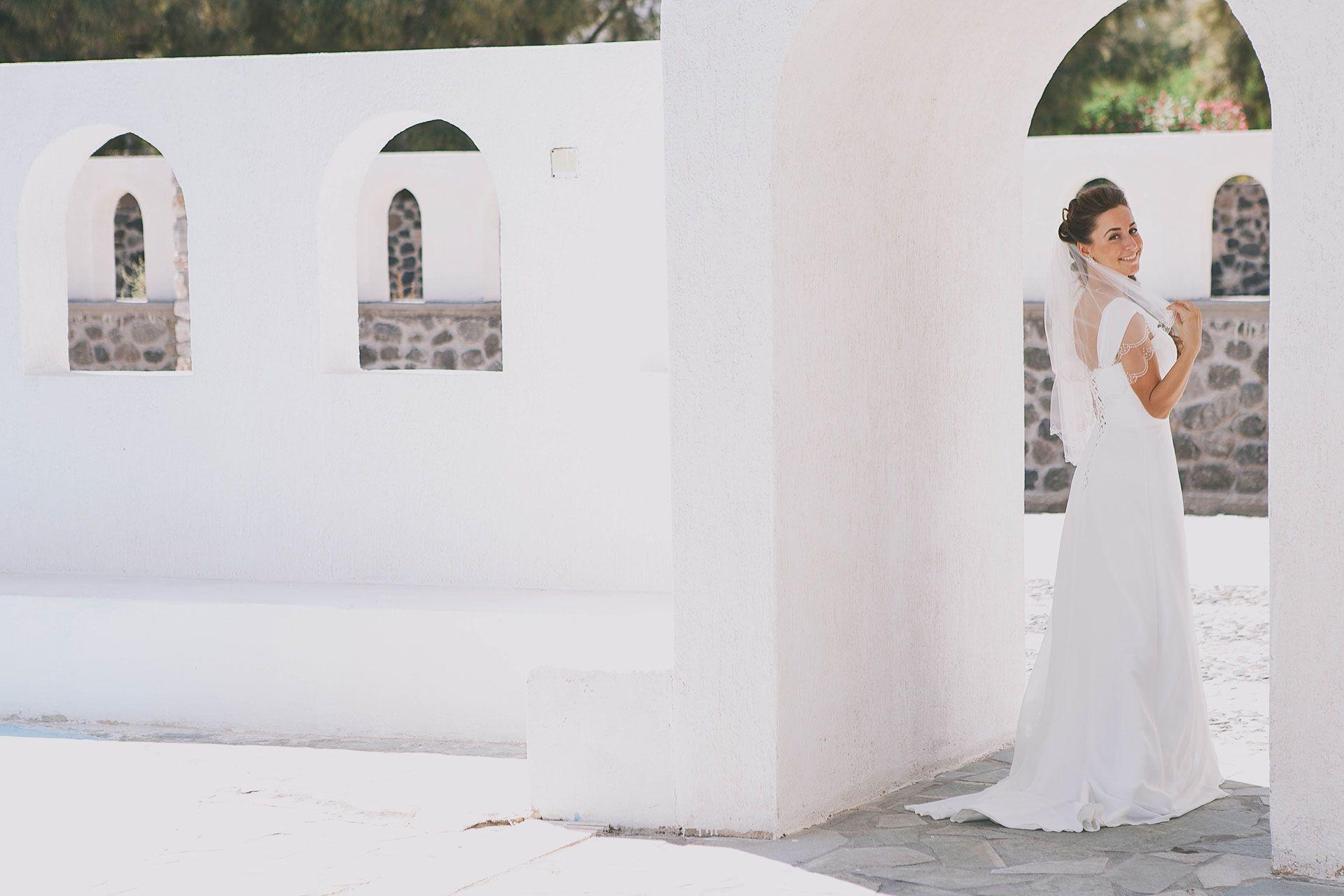 Свадьба на острове Санторини, фото 1