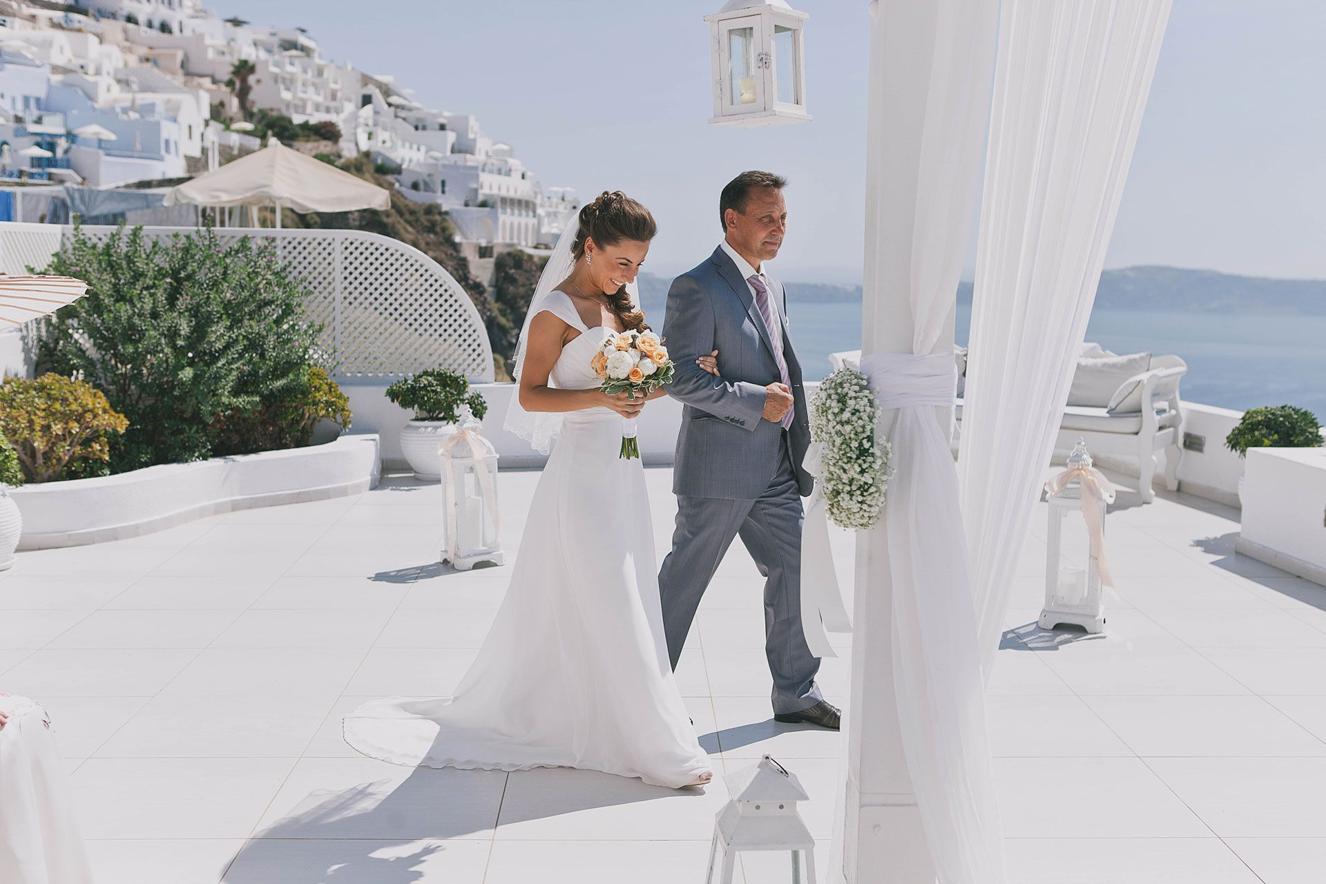Свадьба на острове Санторини, фото 2