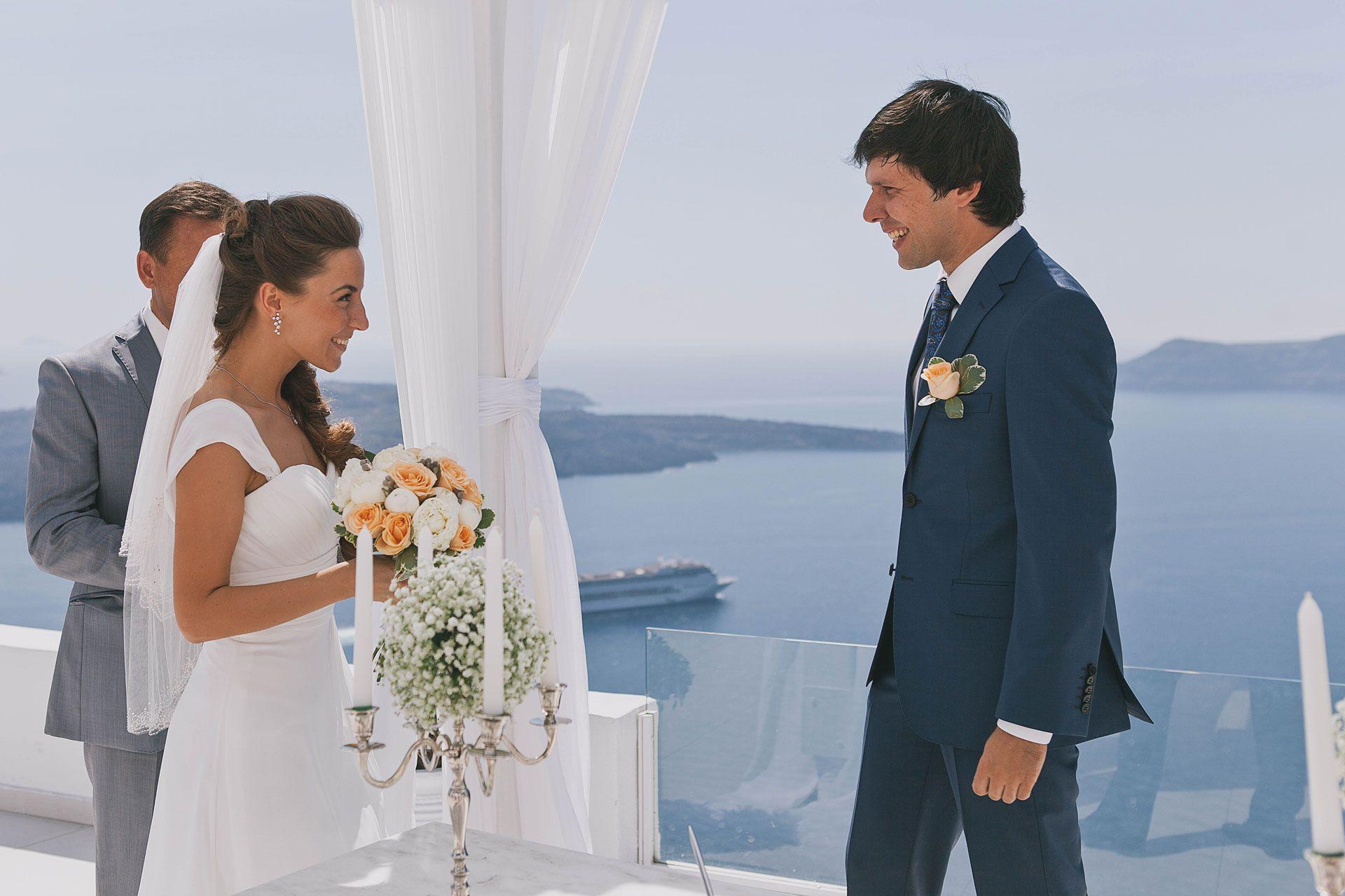 Свадьба на острове Санторини, фото 3