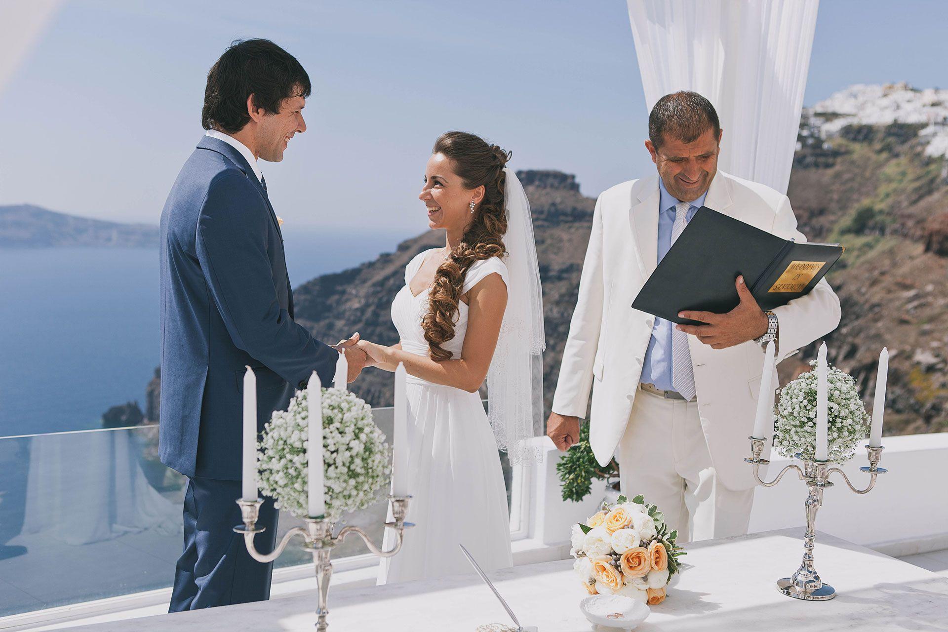 Свадьба на острове Санторини, фото 4