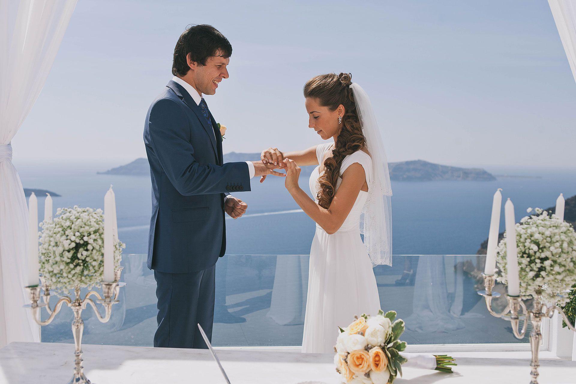 Свадьба на острове Санторини, фото 5