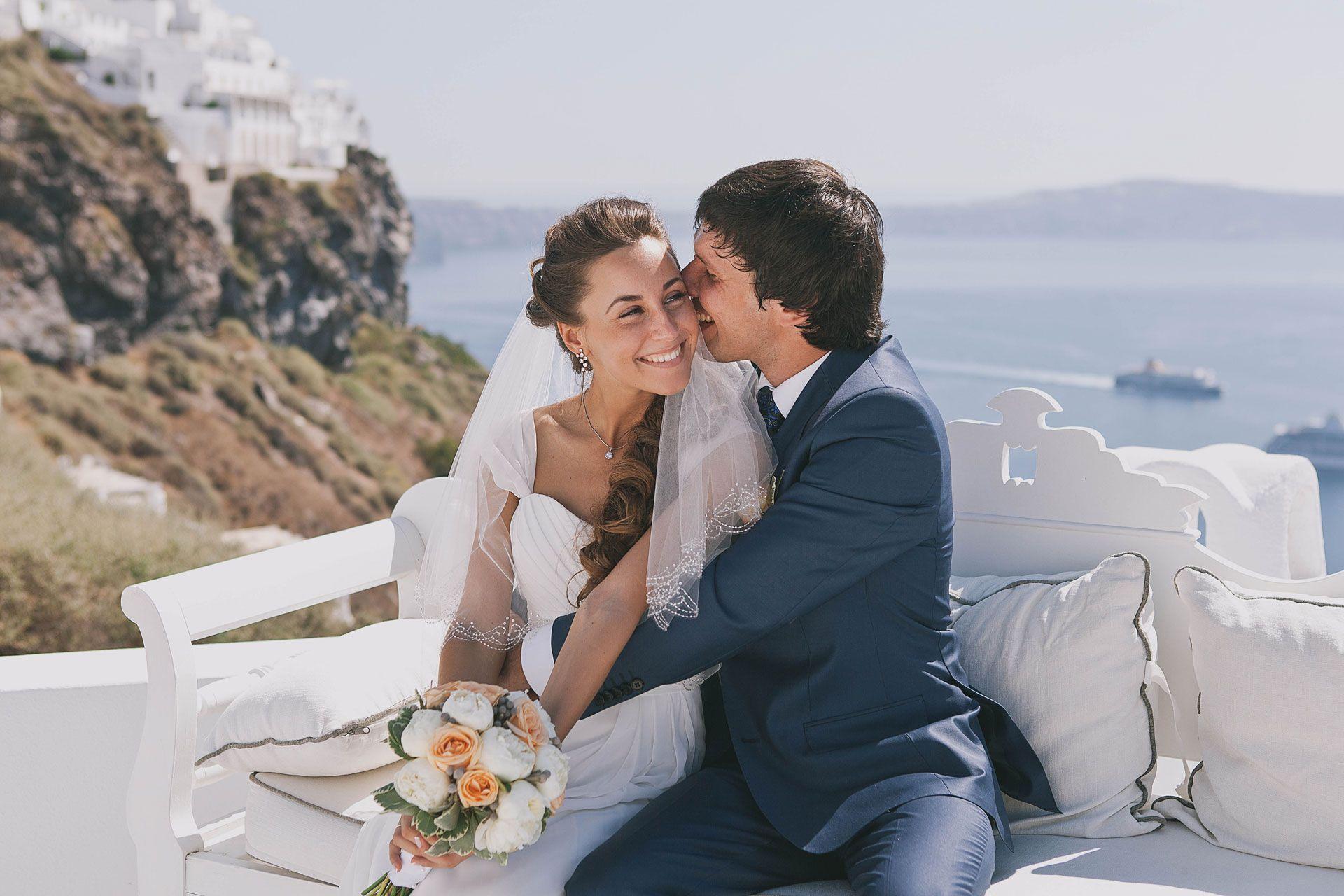 Свадьба на острове Санторини, фото 9