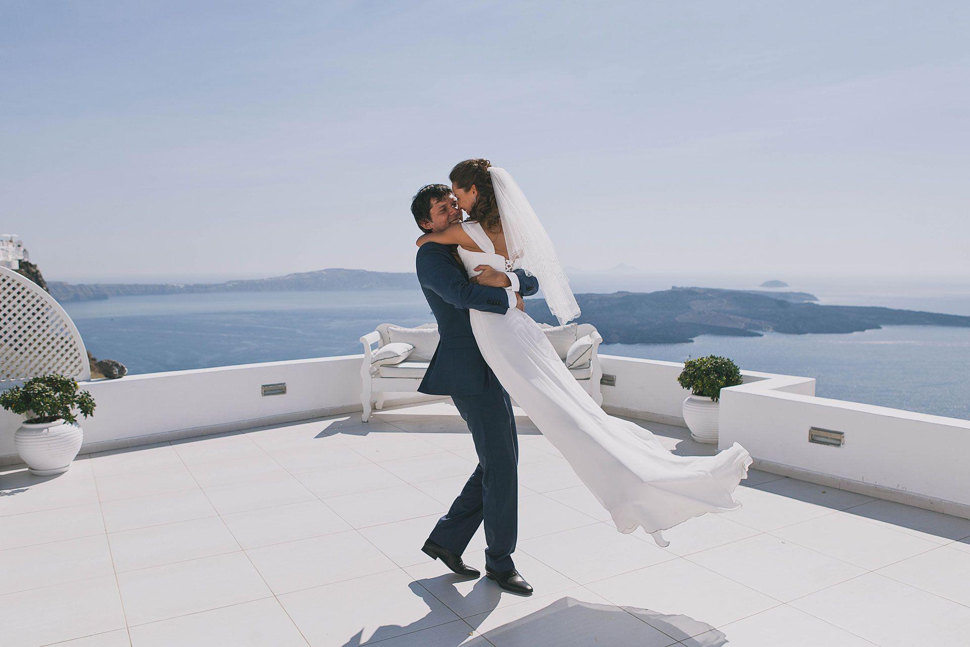 Свадьба на острове Санторини, фото 6