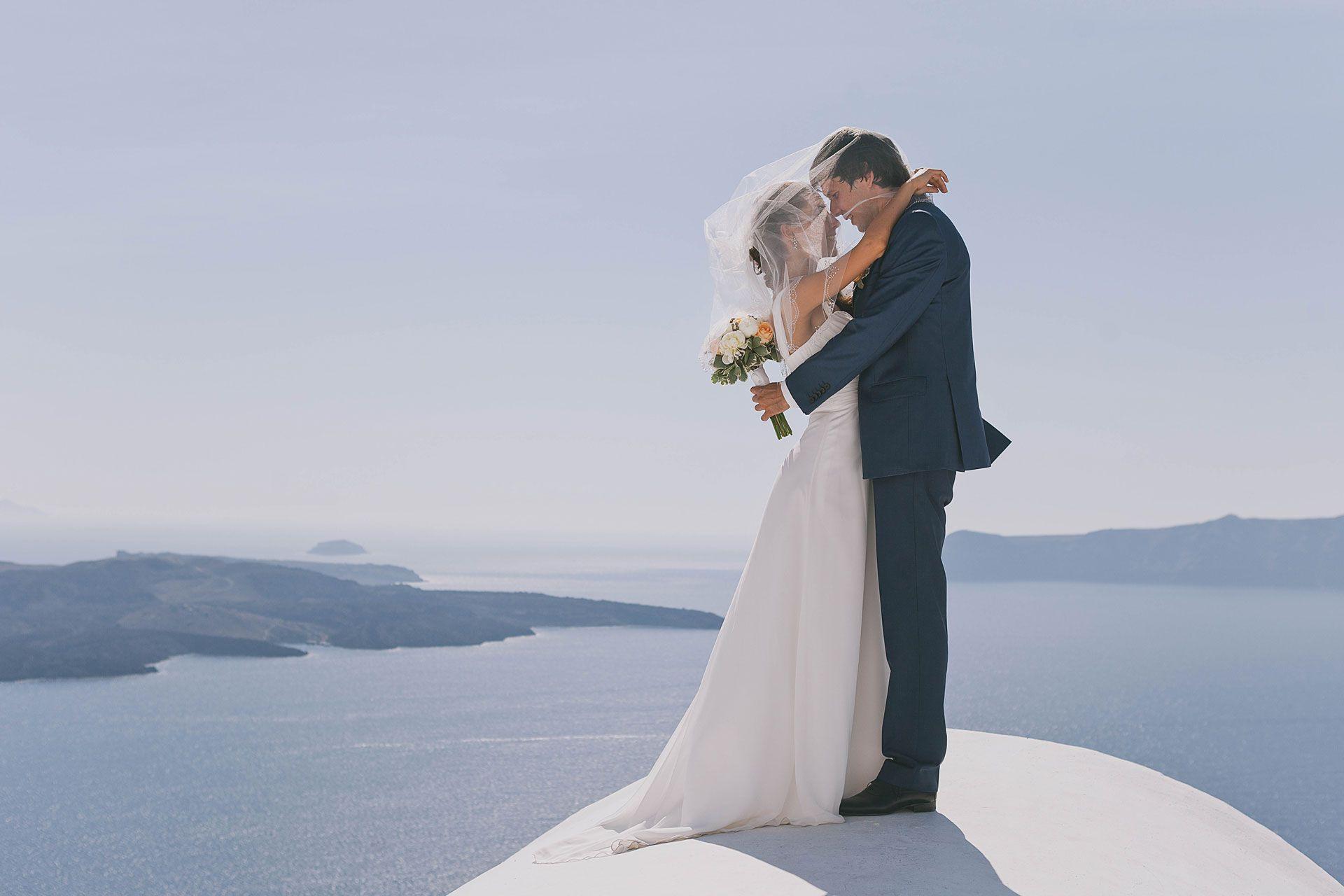 Свадьба на острове Санторини, фото 7