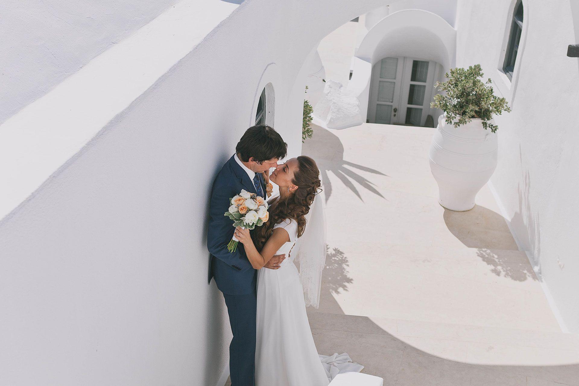 Свадьба на острове Санторини, фото 8