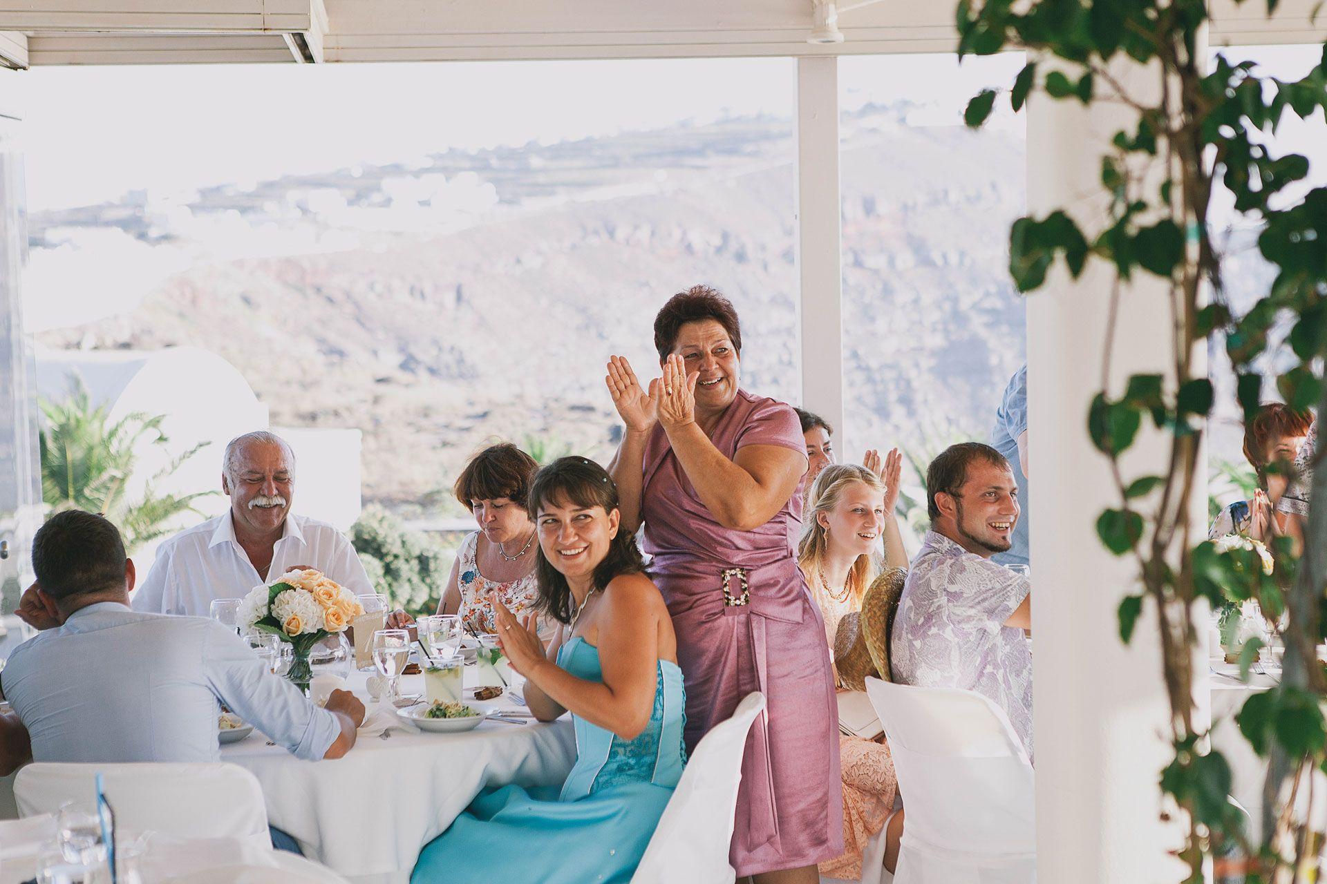 Свадьба на острове Санторини, фото 16