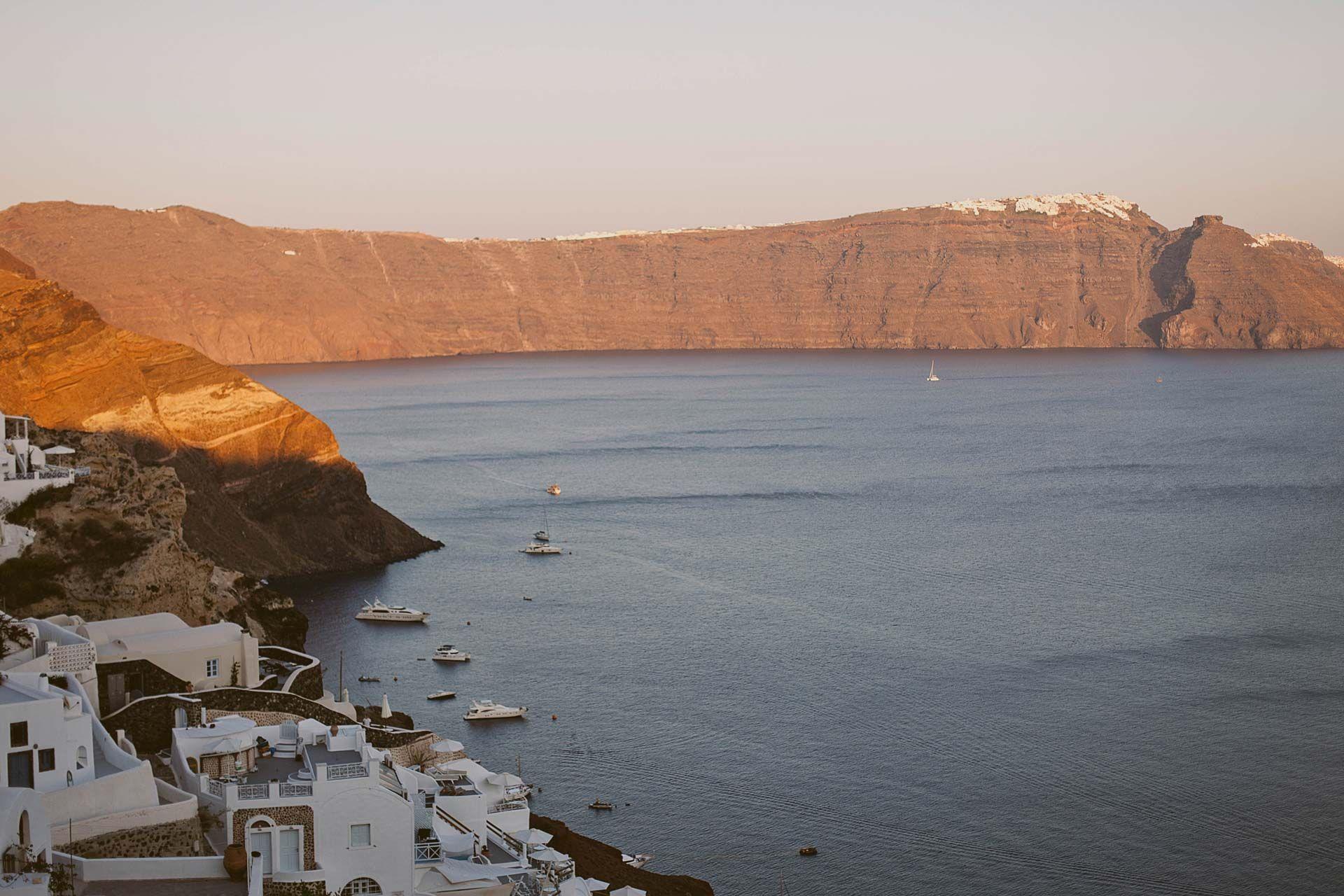 Греческий остров Санторини, свадьба за границей, фото 2