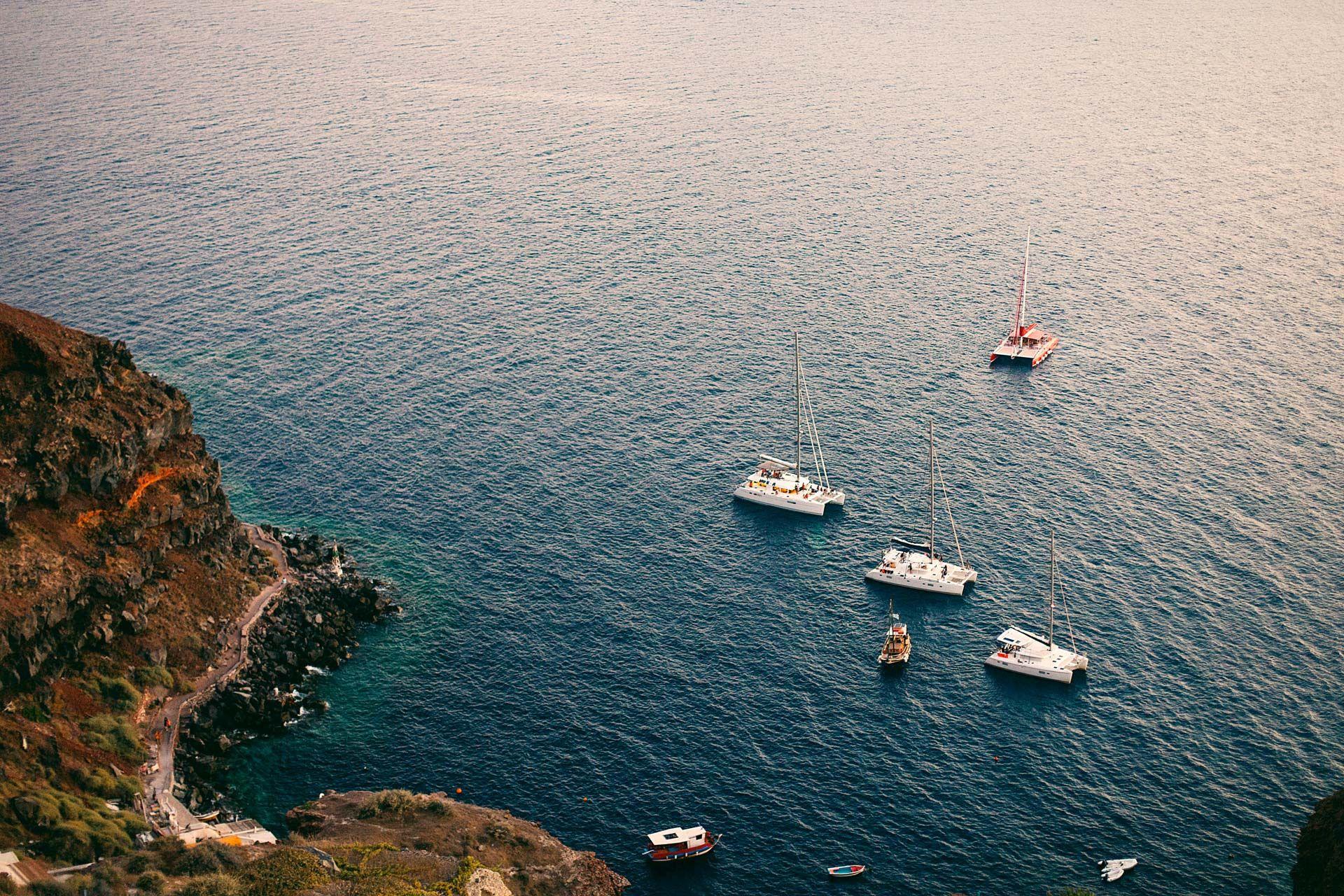 Греческий остров Санторини, свадьба за границей, фото 3