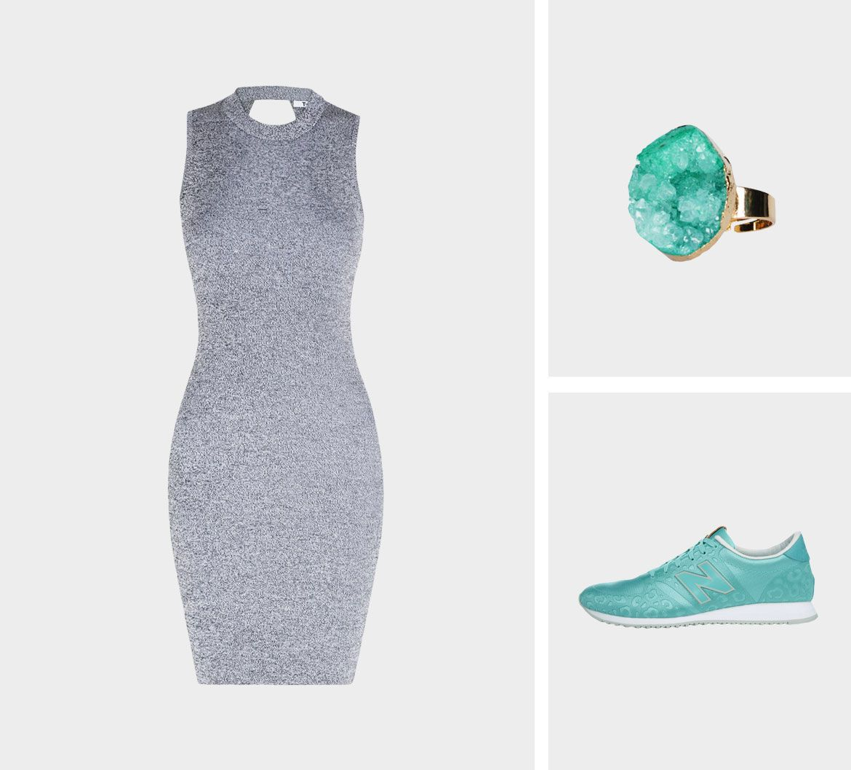 Образ для фотосессии: сочетаем платья с кедами фото 3