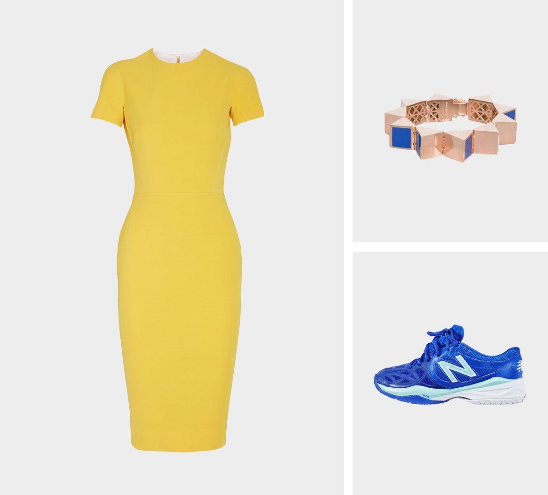 Образ для фотосессии: сочетаем платья с кедами фото 4