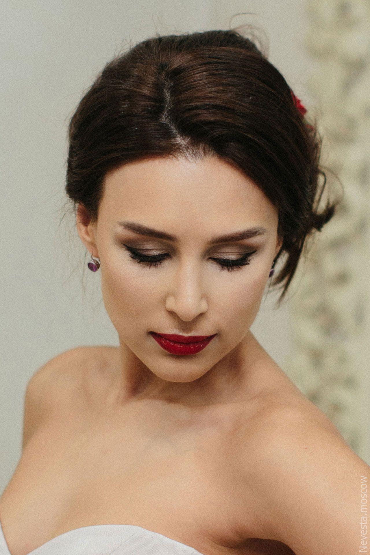 макияж невесты репетиция свадебного образа