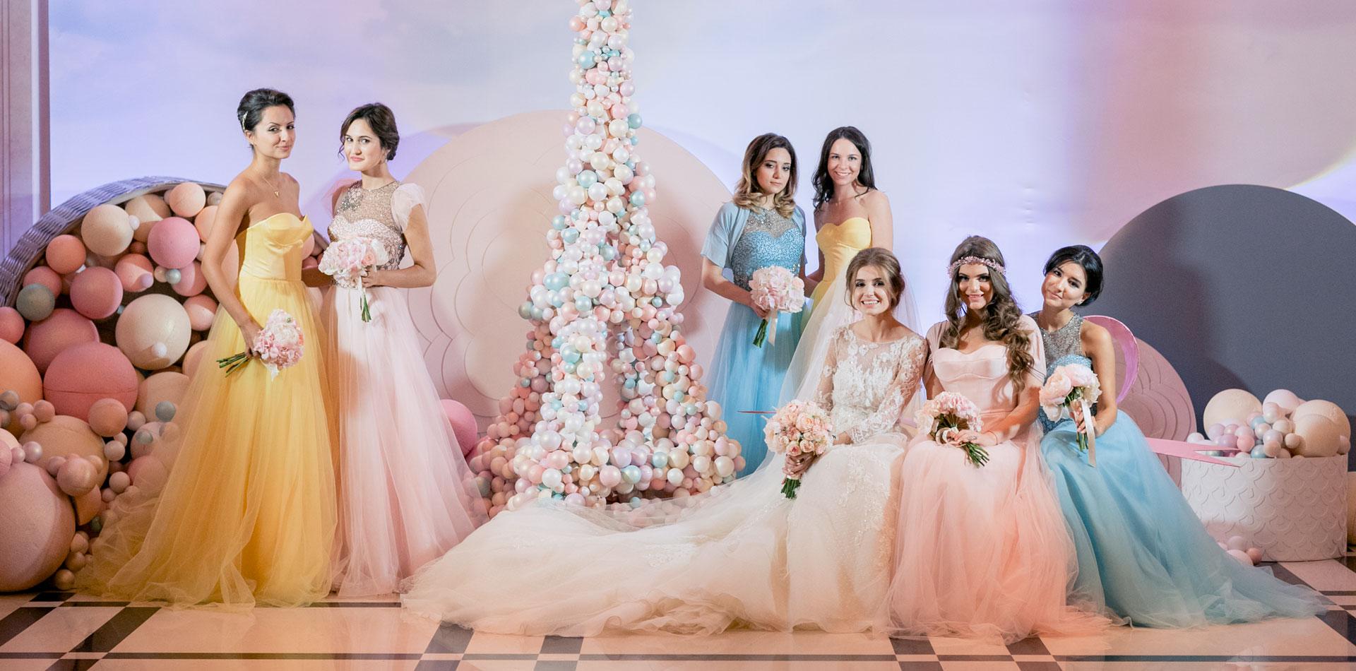 В стиле Guerlain. Свадьба Пако и Амины фото 14