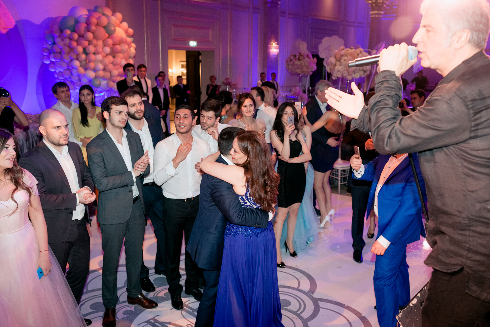 В стиле Guerlain. Свадьба Пако и Амины фото 24