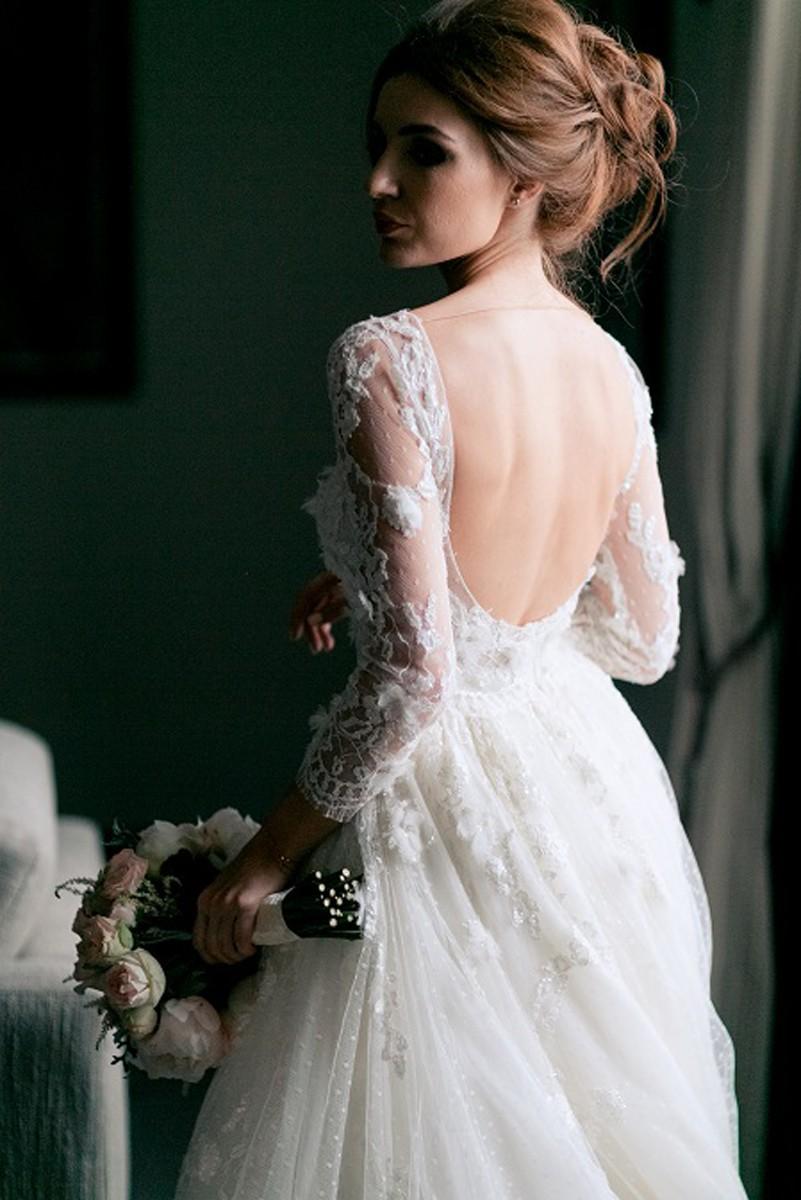 В стиле Guerlain. Свадьба Пако и Амины фото 30