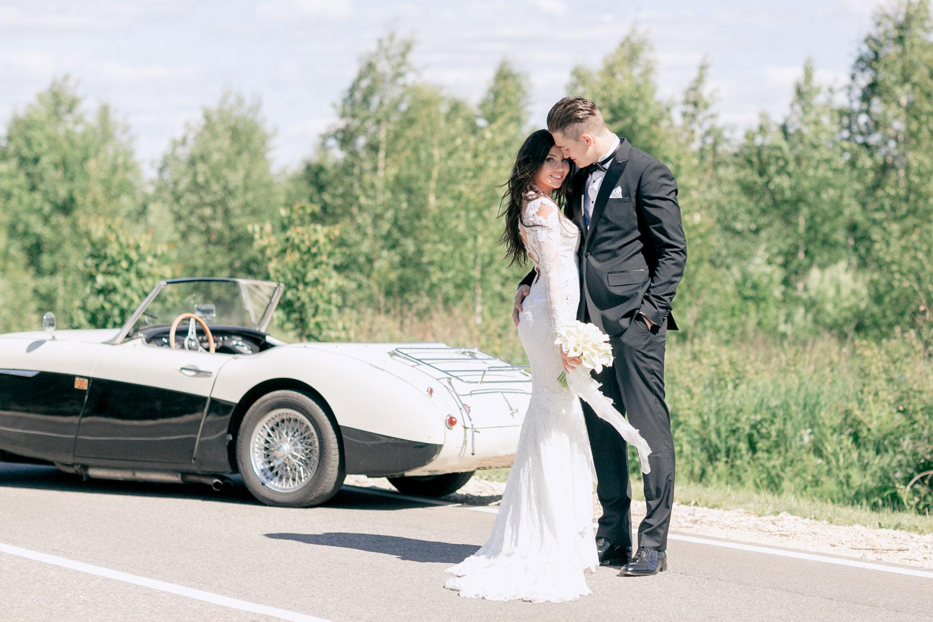 Хоккей и мода. Свадьба Никиты и Александры