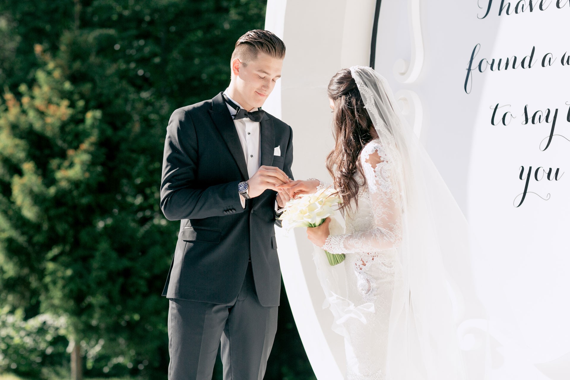 Хоккей и мода. Свадьба Никиты и Александры фото 30