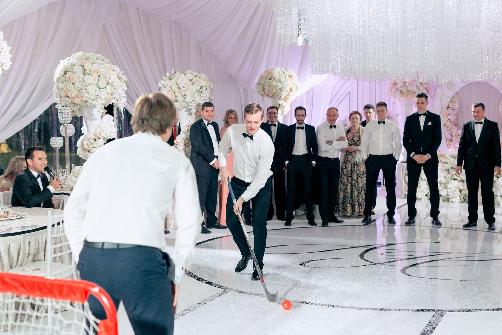 Хоккей и мода. Свадьба Никиты и Александры фото 24