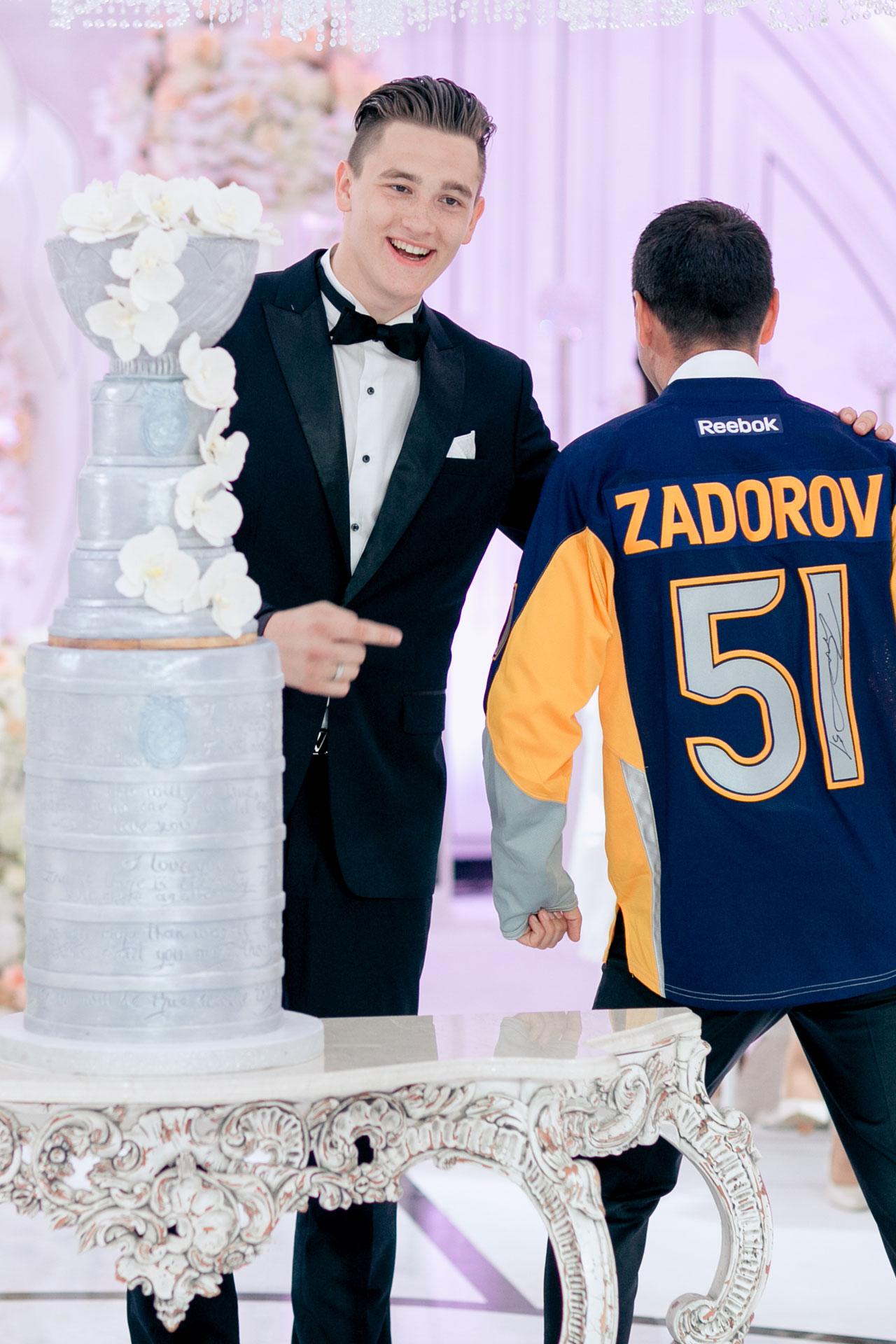 Хоккей и мода. Свадьба Никиты и Александры фото 26