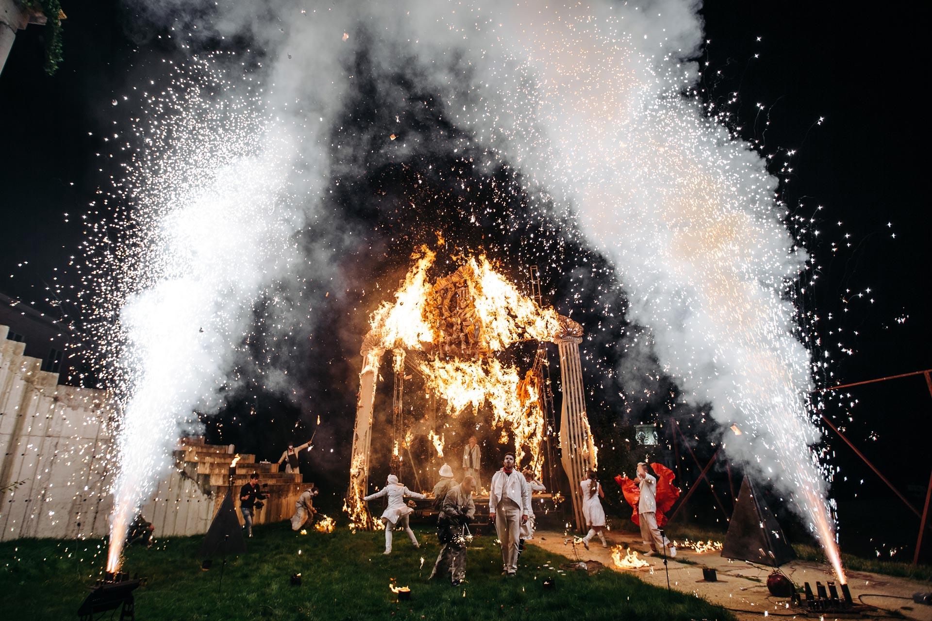 Магический дом. Свадьба Владимира и Ирины фото 15