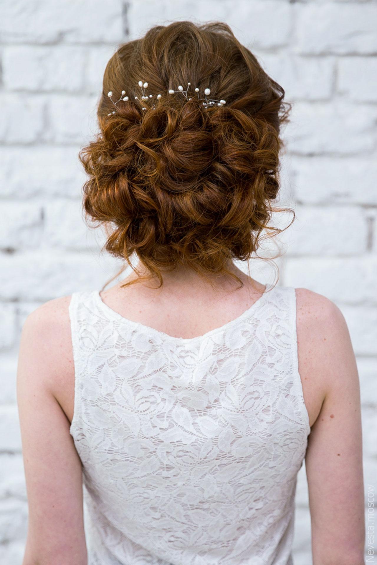 макияж свадебный  репетиция образа невесты фото 2