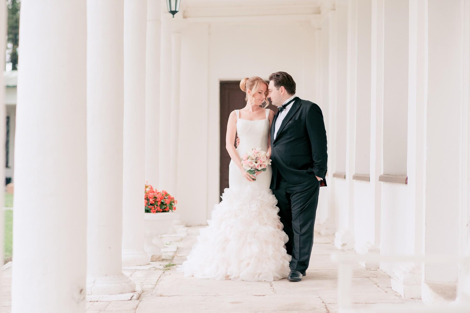 В стиле Laduree. Свадьба Алексея и Полины
