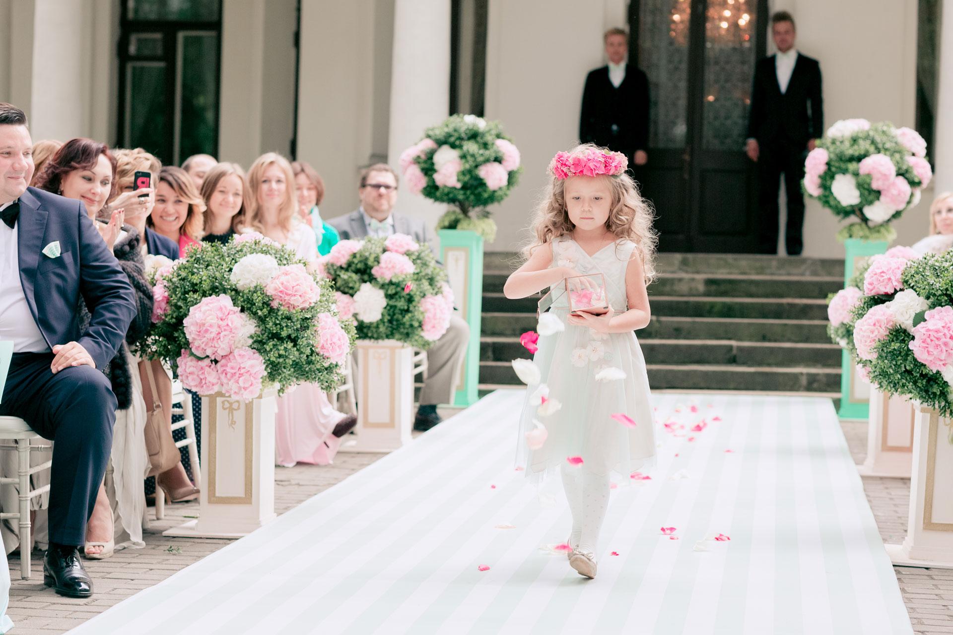 В стиле Laduree. Свадьба Алексея и Полины фото 12