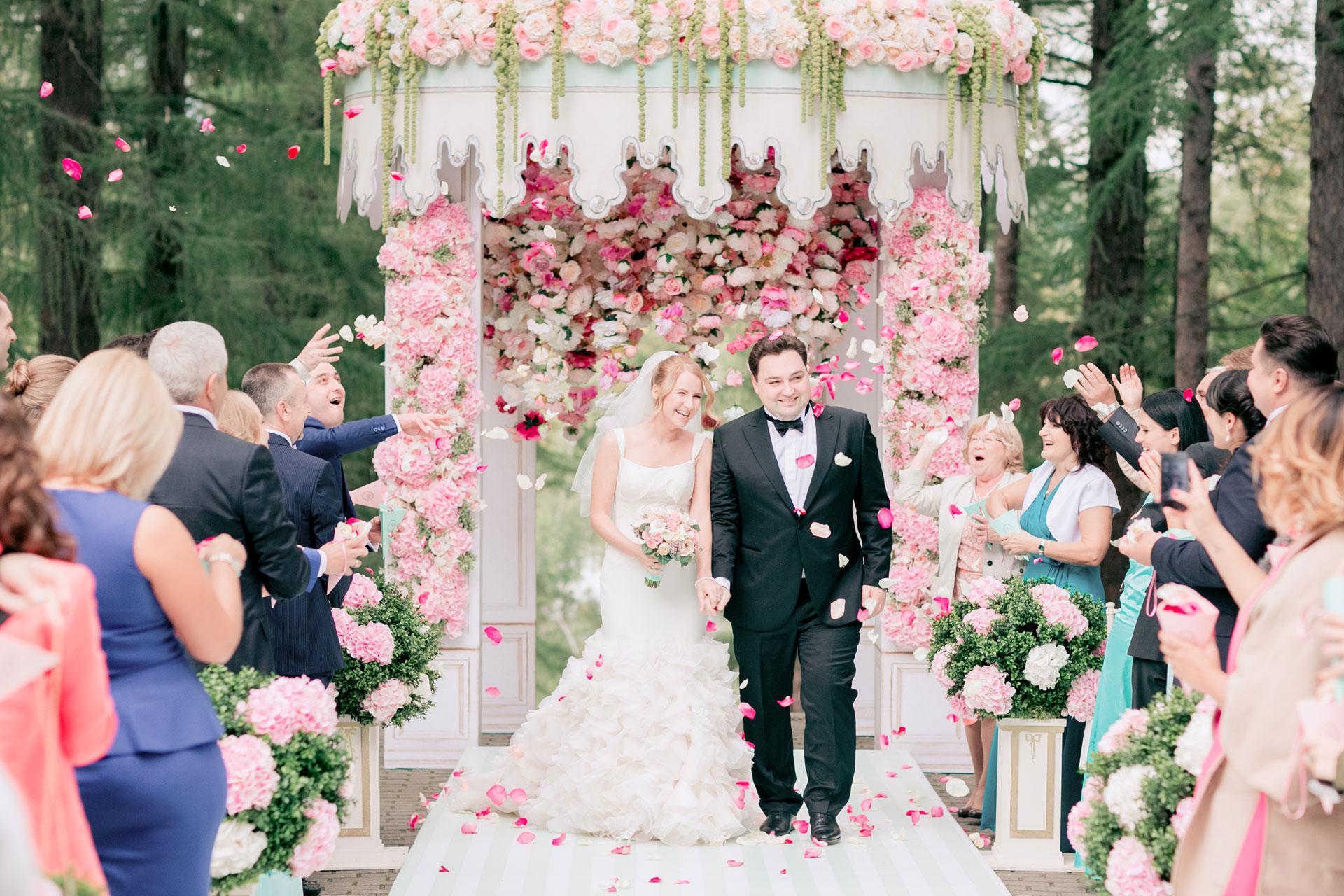 В стиле Laduree. Свадьба Алексея и Полины фото 13