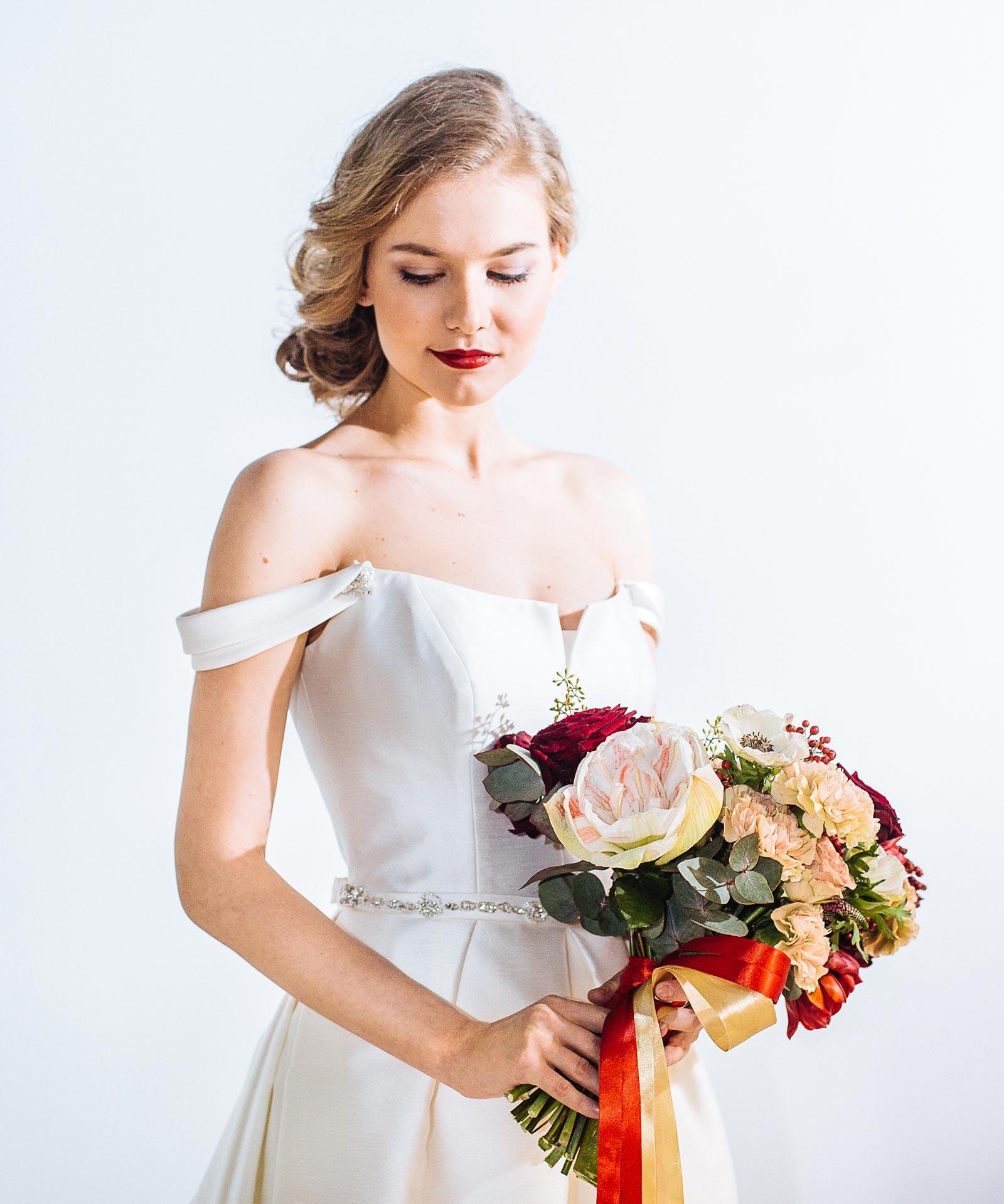 Букет свободной формы для невесты фото 1