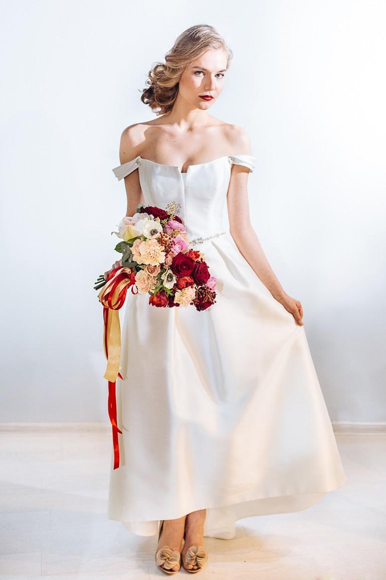 Букет свободной формы для невесты фото 3