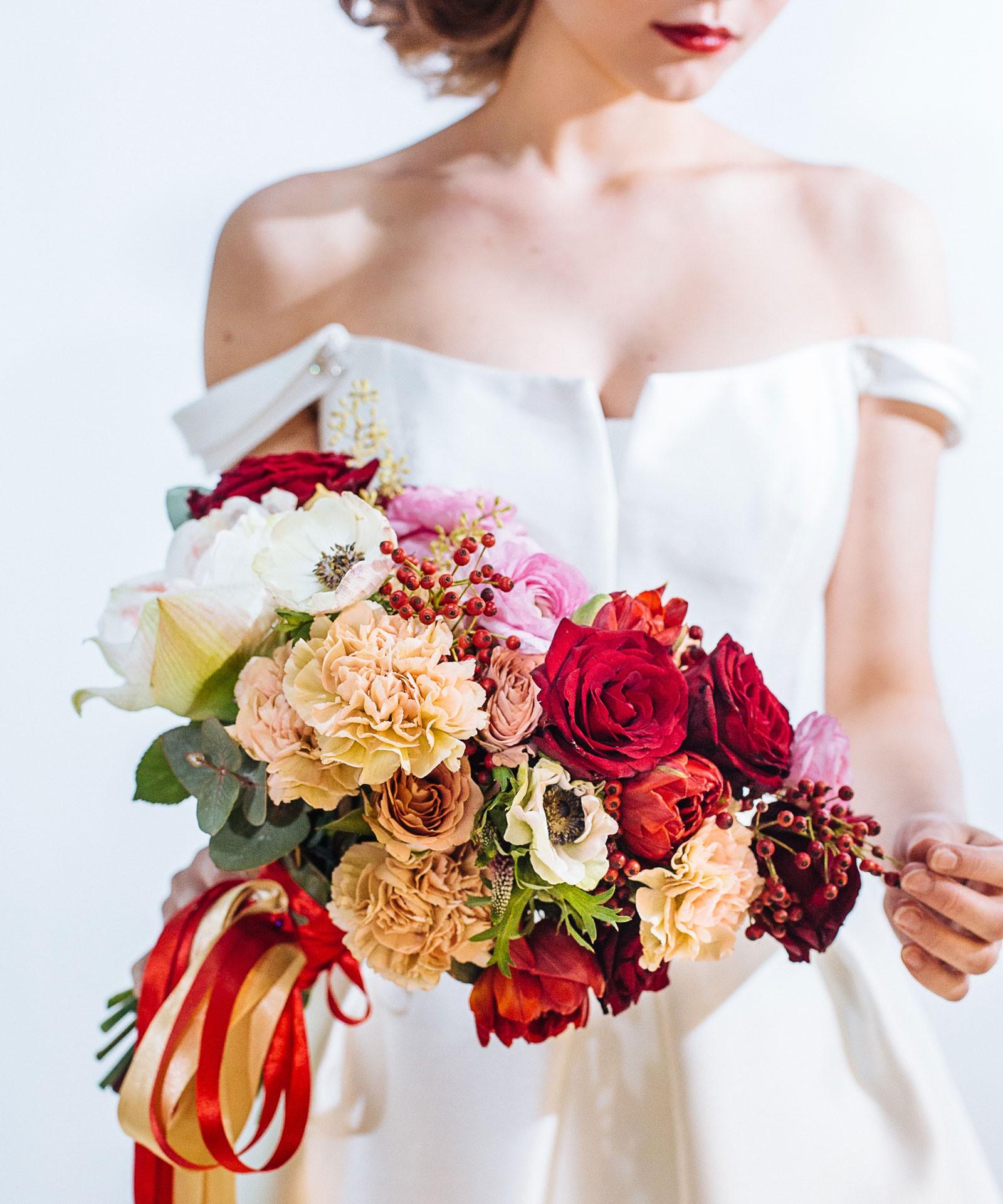Букет свободной формы для невесты фото 2