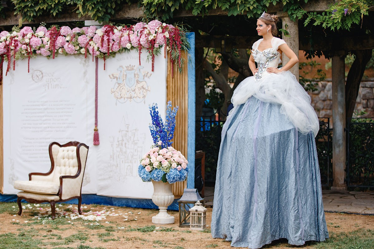 Принцесса Disney. Свадьба Никиты и Валентины фото 15