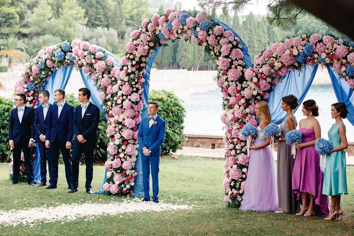 Принцесса Disney. Свадьба Никиты и Валентины фото 21